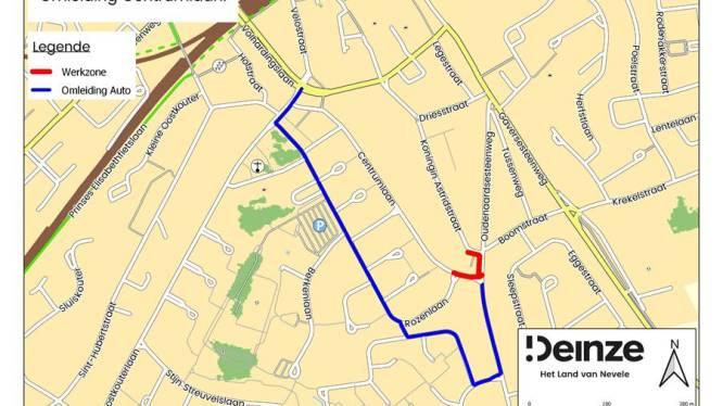 Hinder door aanleg fietsverbinding Koningin Astridstraat en Centrumlaan