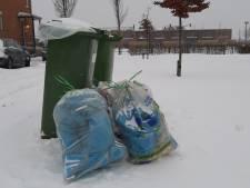 Afval maar zeer beperkt opgehaald in Achterhoek vanwege winterweer