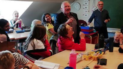 Leerlingen van Kinderkosmos mogen als eens proeven van de Engelse taal