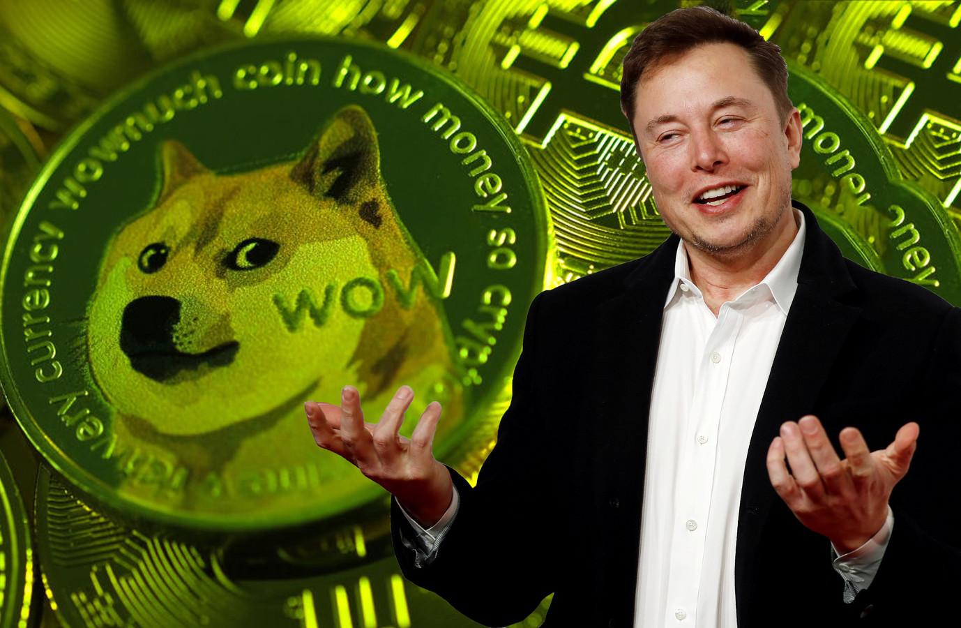 Door een tweet van Musk steeg de waarde van de Dogecoin met meer dan 20 procent.