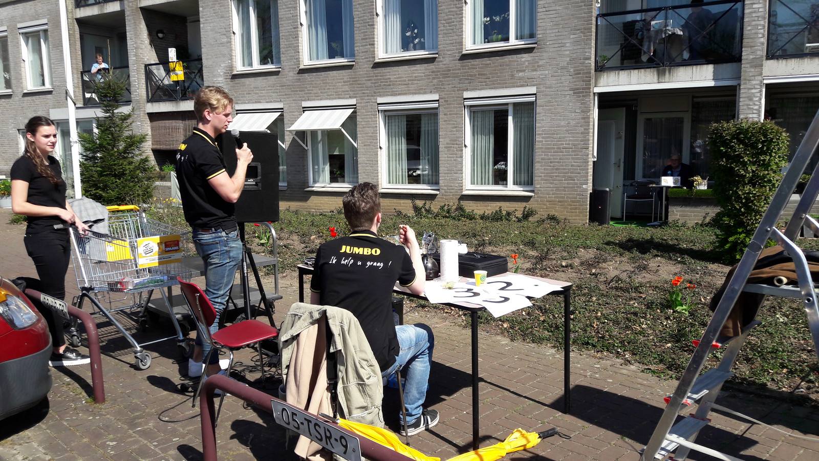 De eerste van vier bingo-sessies rondom zorgcentrum De Wijers in Schaijk.