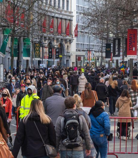 Ondanks reisverbod loopt Antwerpen nog altijd vol met Nederlanders