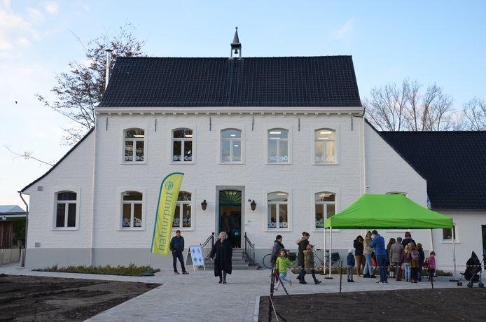 Het nieuwe bibfiliaal in Denderhoutem.