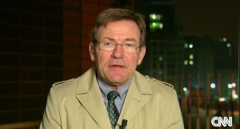 Van Overtveldt was gisteren te gast op CNN voor zijn visie op de crisis met Griekenland.