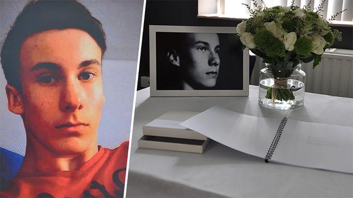 Willem Stul (16) kwam dinsdagavond om in een vliegtuigcrash.