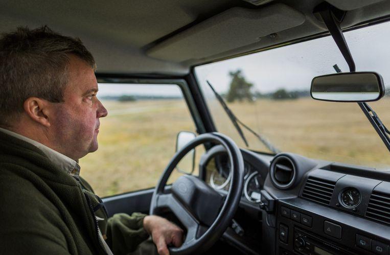 Jakob Leidekker, hoofd bedrijfsvoering Nationaal Park De Hoge Veluwe: 'De mens is te gast in de natuur.' Beeld Freek van den Bergh