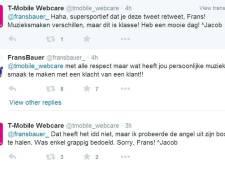 Frans Bauer pakt T-Mobile terug na gemene tweet