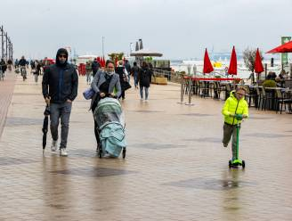 Zeedijk Knokke-Heist opnieuw autoluw tijdens de zomer