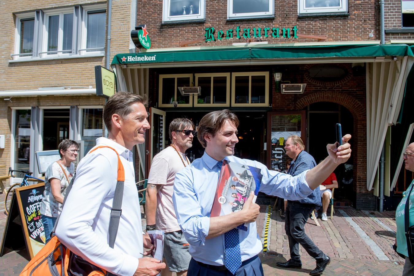 Thierry Baudet met Joost Eerdmans.
