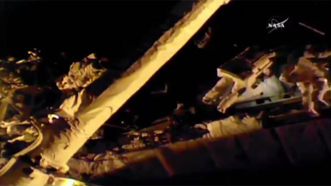 Bekijk hier live ruimtewandeling van ISS-astronauten