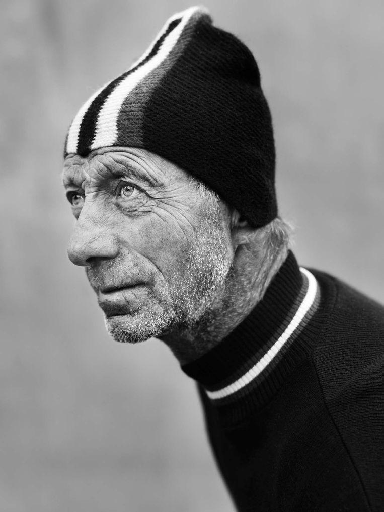 Piet de Boer, Fries sportman van de eeuw. Beeld Stephan Vanfleteren