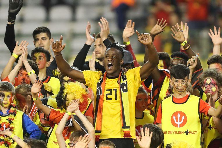 Volgens buitenlandse kenners maken de Rode Duivels wel degelijk een goede kans op het WK. Beeld BELGA