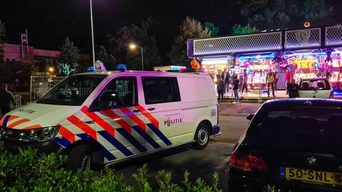 Weer is het raak in de wijk Paasbos in Nijkerk: jongeren slaags op de kermis