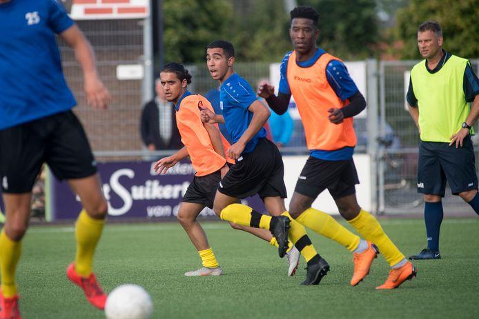 Hans van de Haar tijdens de training van FC Lienden, eerder dit seizoen.