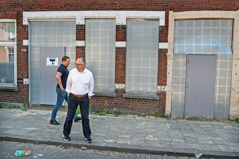 De onteigende huizen in de Tweede Carnissestraat. Beeld Guus Dubbelman / de Volkskrant