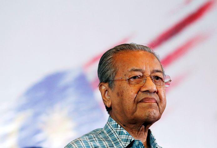 De voormalige Maleisische premier Mahathir Mohamad.