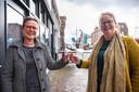 Oudenbosch - 11-5-2021 - Foto: Pix4Profs/Marcel Otterspeer - Monique Jasperse en Marieke Bendeler ontwikkelen een Kleine Mensjes Route in Oudenbosch.
