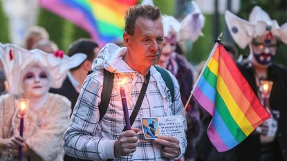140-tal Brusselaars komt op straat tegen homofoob geweld