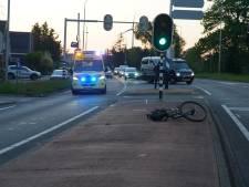 Aanrijding in Epse in 'staart' van brandweeroefening: fietser gewond naar ziekenhuis