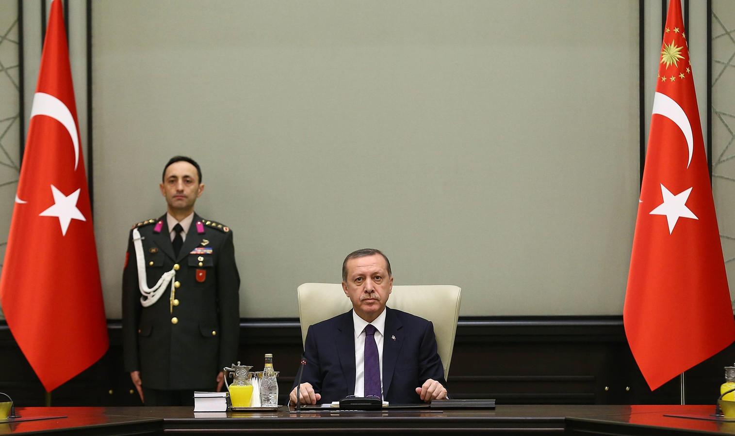 """Recep Erdogan a farouchement nié toutes les accusations, qu'il a attribuées à un """"complot""""."""