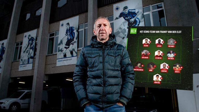 Franky Van der Elst: 'De eerste wedstrijd meteen in Rusland tegen Rusland en daarna tegen Denemarken in Kopenhagen: begin er maar aan.' Beeld PN