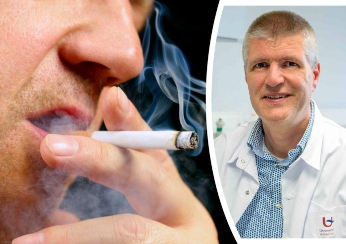 Professor Filip Ladron, kankerspecialist en diensthoofd van het Centrum voor Oncologisch onderzoek (UA)