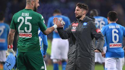 FT buitenland 26/05: Dries Mertens ziet zijn doelman bij Napoli naar AC Milan vertrekken