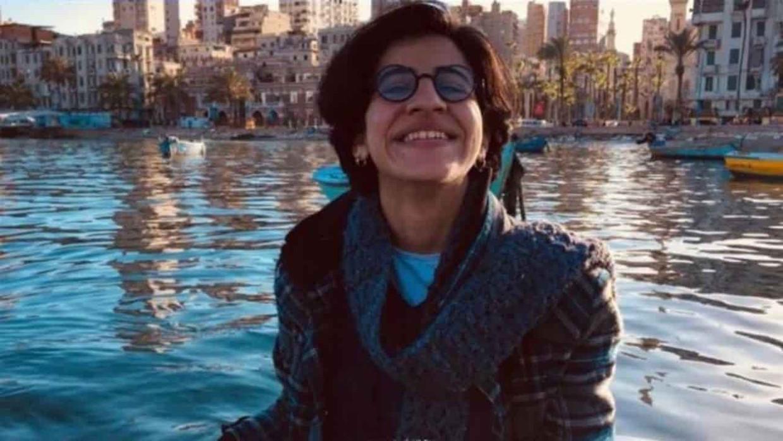 Lhbti-activiste Sarah Hegazy. Beeld