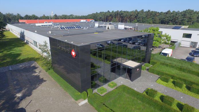 Het gebouw van Caramundi in Turnhout.