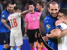 'Met open mond heb ik genoten van het potje ver piesen tussen Il dottore Chiellini en Jordi Alba'