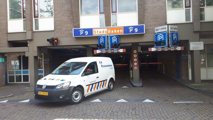 Pargeergarage Stadsbaken in het centrum van Almelo