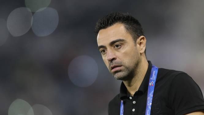 Xavi slaat aanbod Barcelona niet bij voorbaat af: 'Ik sta overal voor open'