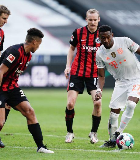 Le Bayern s'incline à Francfort et aligne un deuxième match sans victoire