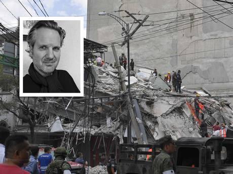 Nederlander bij aardbeving Mexico: Iedereen rende naar de deur, mensen huilden