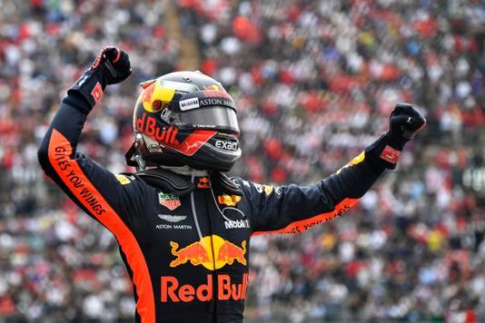 Max Verstappen won vorig weekend de Grand Prix van Mexico.