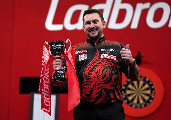Jonny Clayton wint de Masters Darts.