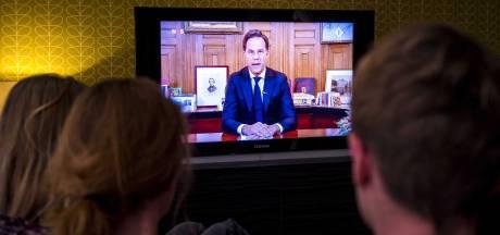 Mark Rutte breekt record met Torentjestoespraak: 8,4 miljoen kijkers