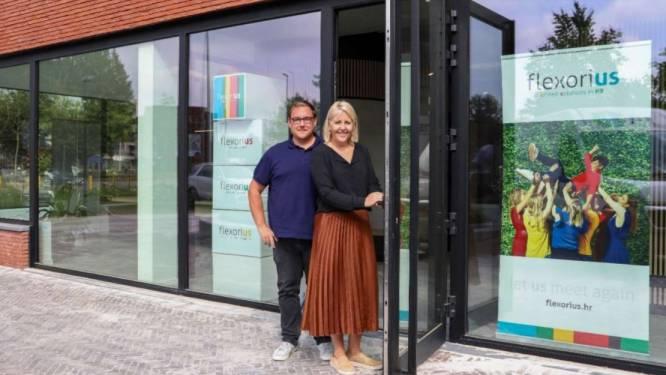 Flexorius verhuist naar nieuw gebouw in Lummen