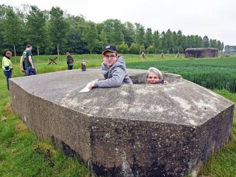 Bunkers in Groede merkte je pas op als je geraakt werd