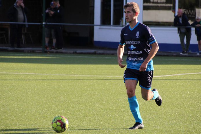 Verdediger Tim Boogaerts speelt al meer dan tien seizoenen in het eerste elftal van Olympia Wijgmaal.
