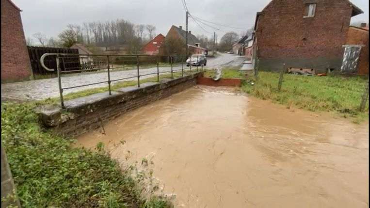 De Maarkebeek in Maarkedal. Beeld Ronny De Coster