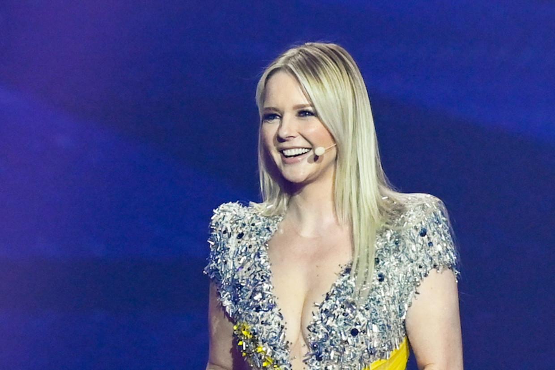Chantal Janzen, presentatrice van het Eurovisie Songfestival Beeld rv