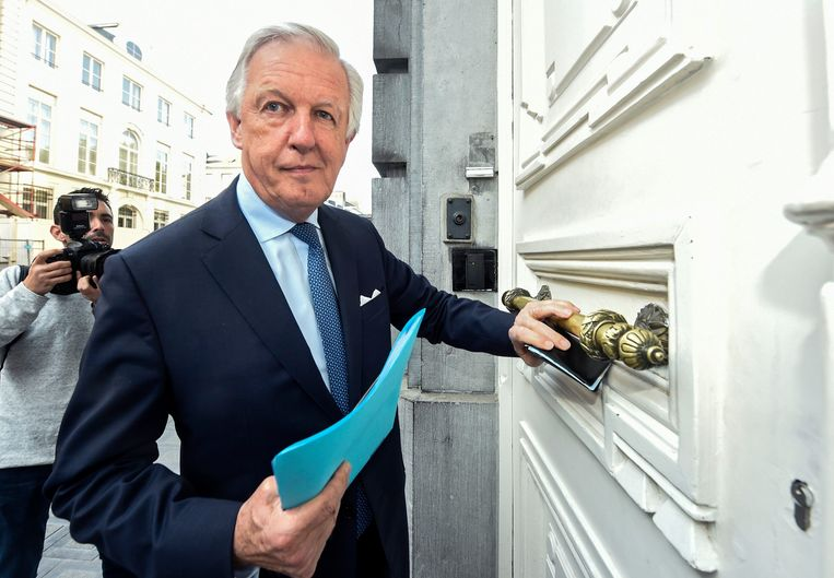 Pensioenminister Daniel Bacquelaine (MR). Beeld Photo News