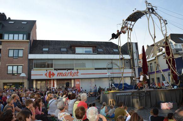 'De Donderdagen' op de Graanmarkt in Ninove. Ze zullen ook dit jaar plaatsvinden, maar in aangepaste versie, op een pop-up-plein.