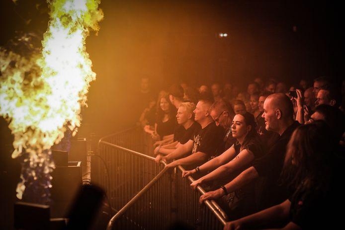 Bezoekers bij het DRU Industriepark in Ulft genoten van een spectaculair optreden