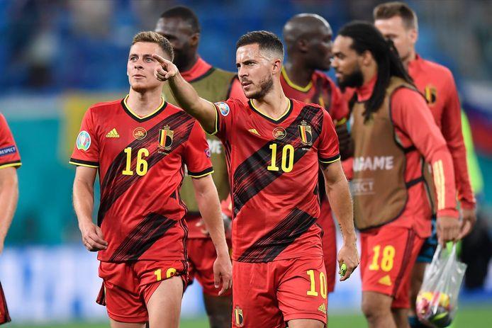 Monter en puissance au fil des minutes et des matchs: l'objectif d'Eden Hazard.