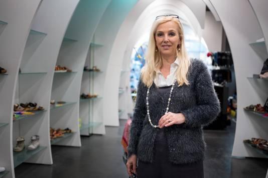 Ook Birgitte van de Graaff van schoenenwinkel Gentry vindt de metamorfose meer dan geslaagd.