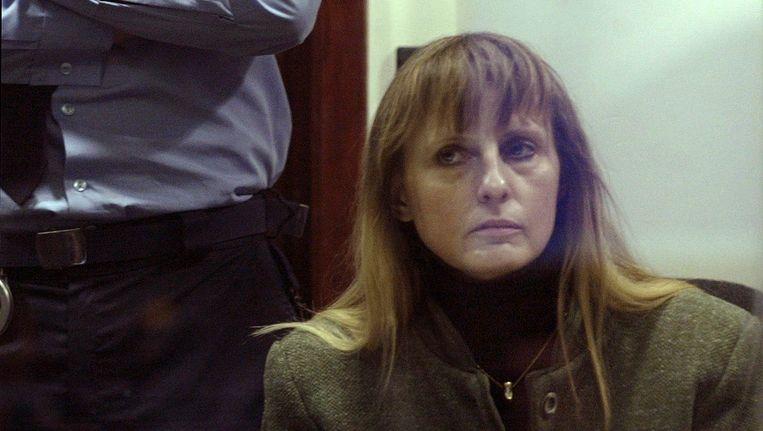 Michelle Martin tijdens haar proces in Arlon in 2004. Beeld REUTERS