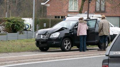 Twee gewonden bij aanrijding op kruispunt Schrijberg