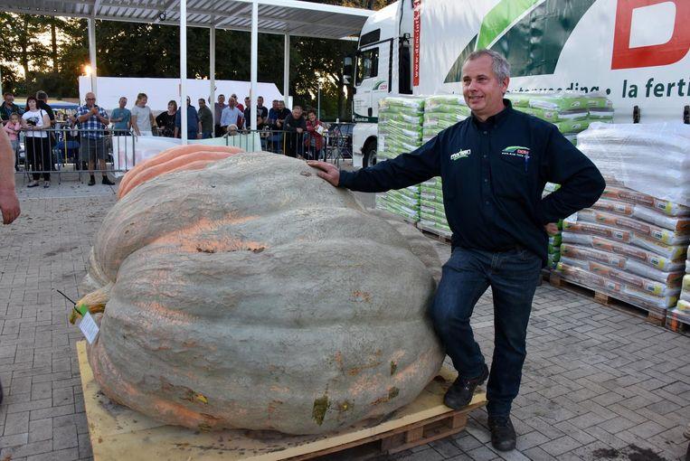Herman Boonen won met 903,1 kg.
